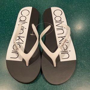 NWOT Calvin Klein Sandals